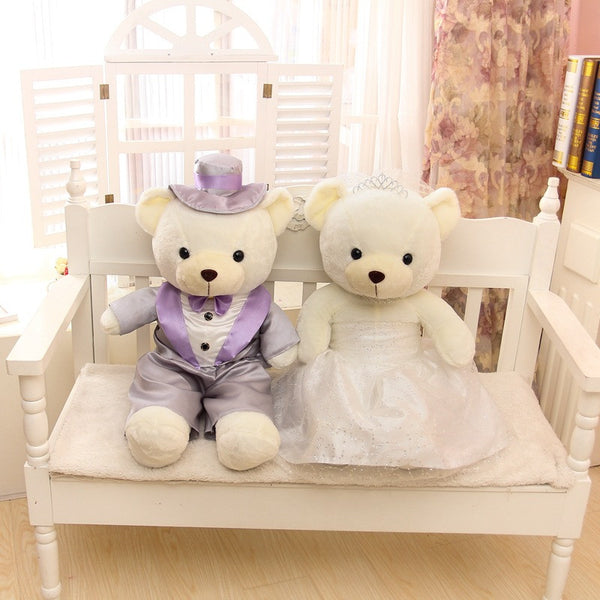 Valentine's Day gift large about 60cm wedding teddy bear plush toy couples love bear doll gift proposal gift birthday gift w5286 - CoupleStuffs.com - Couple's Super Shop for Stuffs!