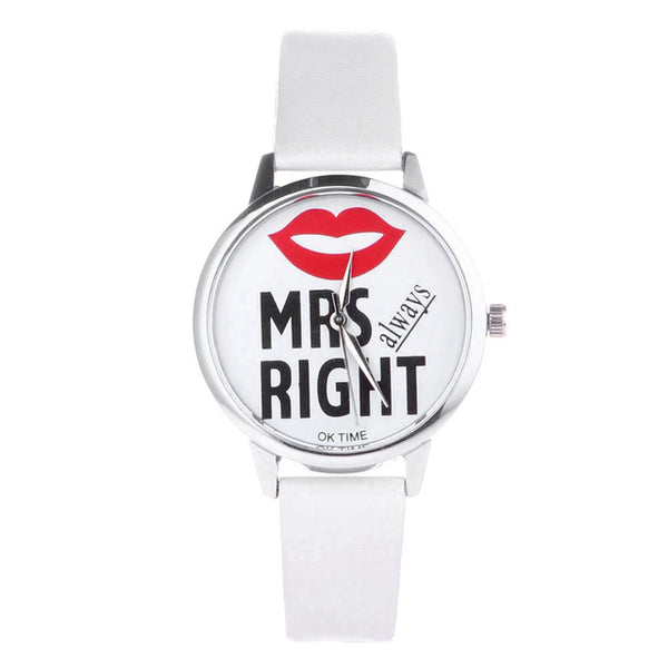 Mr. Right and Mrs. Always Right Couple Watch