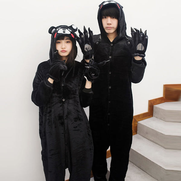 Adult Kumamon Couple Pajamas