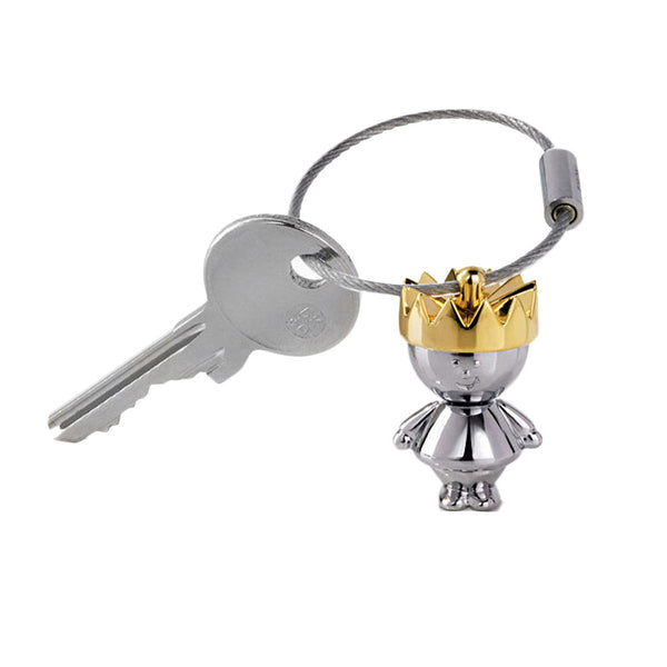 Little King & Little Queen Couple Keychain