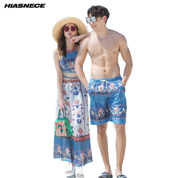 Boho Couples Swimwear Set