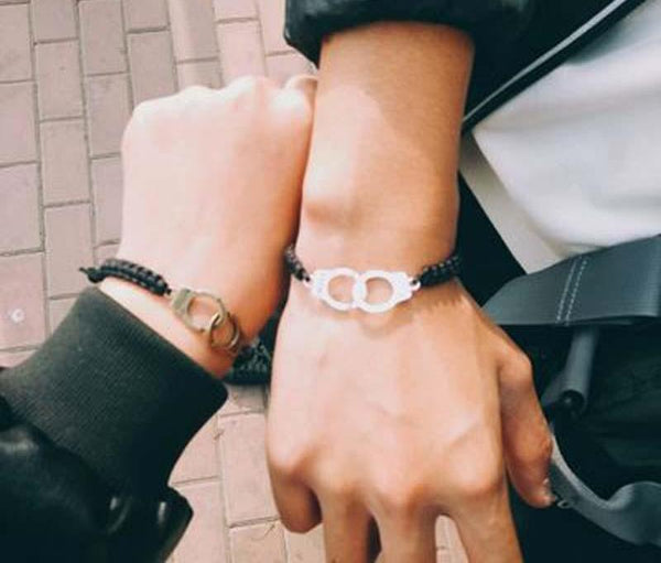 Handcuffs Couple Bracelets
