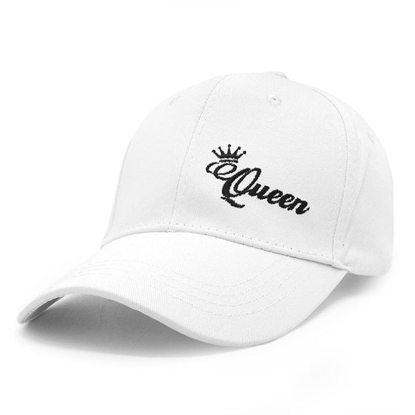 King Queen Couple Baseball Cap