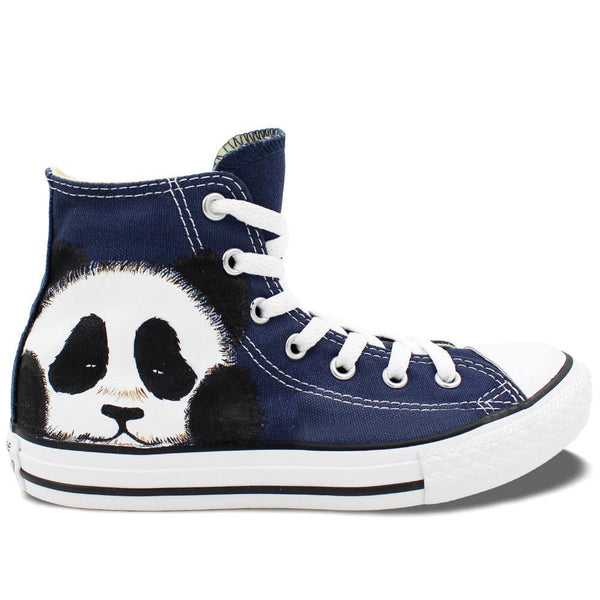 Couple Shoes Original Hand Painted Shoes Design Custom Cute Panda Sneakers Boys Girls Gifts - CoupleStuffs.com - Couple's Super Shop for Stuffs!