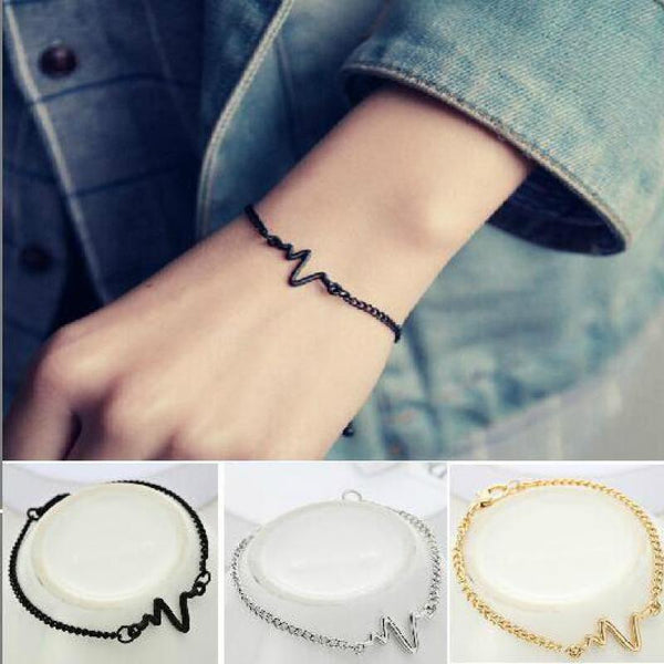 Heartbeat Couple Bracelet
