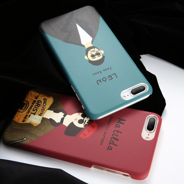 Matilda and Leon Couple Phone Case