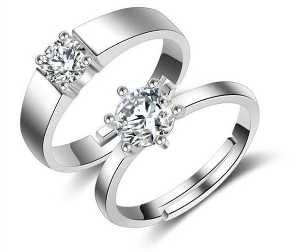 Double Crystal Couple Rings