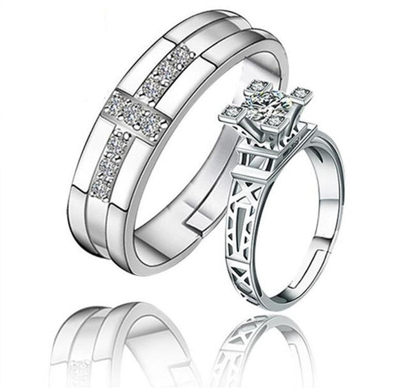 Eiffel Tower Couple Rings