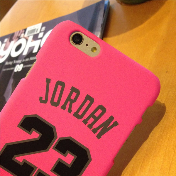 Black Pink Jordan Couple Phone Case