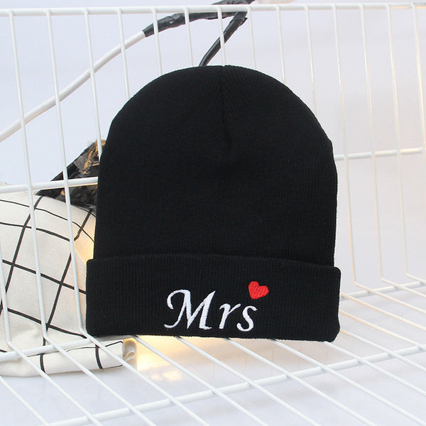 Mr. & Mrs. Knitted Couple Beanie
