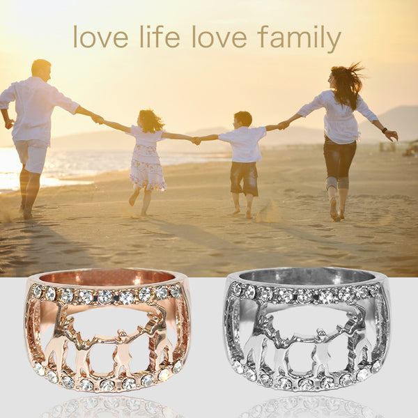 Love Life Love Family Couple Rings
