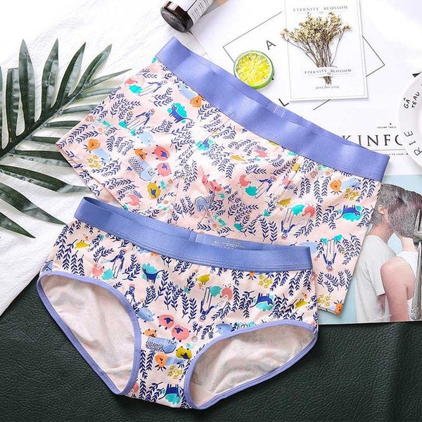 Blossom Couple Underwear