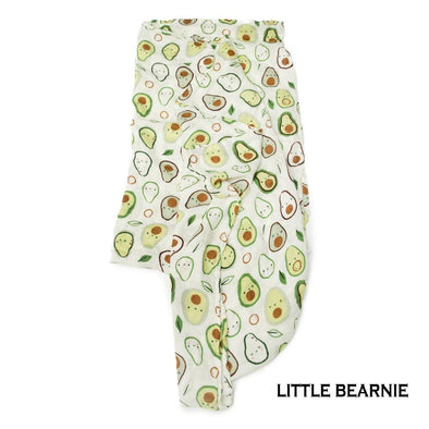 Swaddle / Baby Blanket - Cutie Avocado