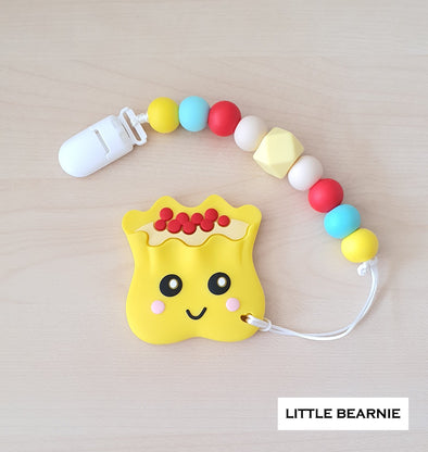 Modern Baby Teether Clip Set - Siewmai (B)