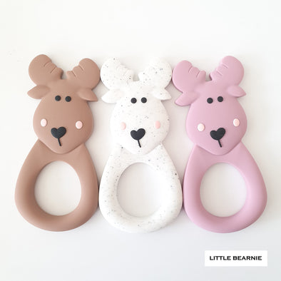 Modern Baby Teether - Moose Deer