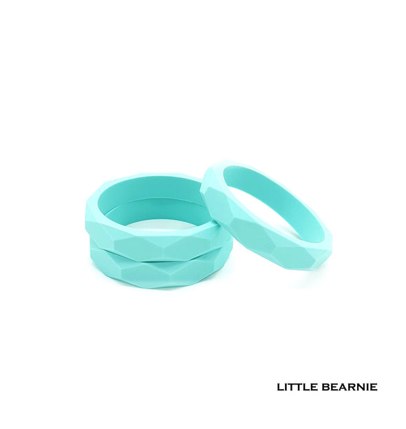Stylish Teething Bangle - Tiffany Blue
