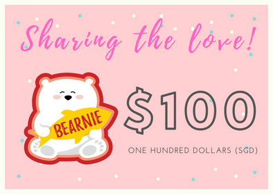 $100 BEARNIE-Gift Card