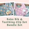 Boba Bib & Teether Bundle Set