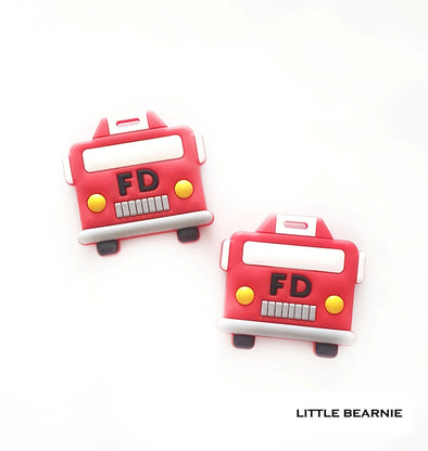 Modern Baby Teether - Fire Truck
