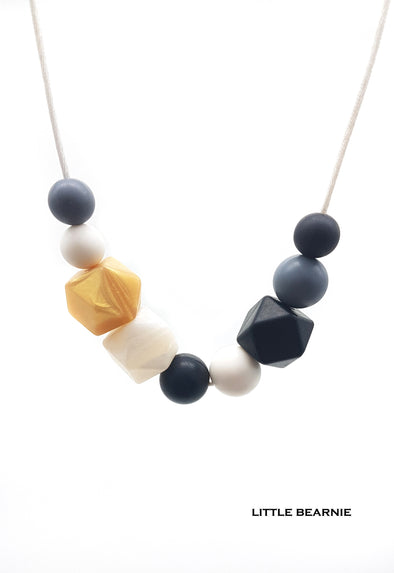 Handmade Beads Necklace  - Sandy