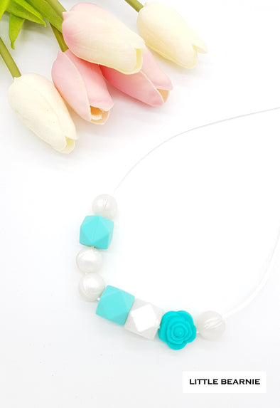 Handmade Beads Necklace  - Tiffany