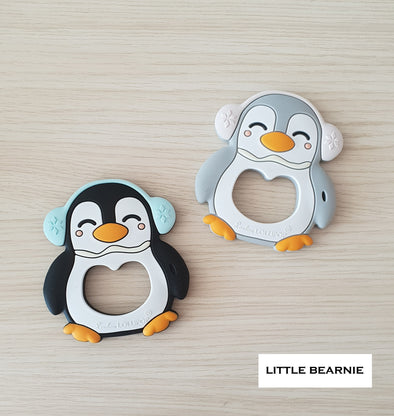 Modern Baby Teether - Muffy Penguin