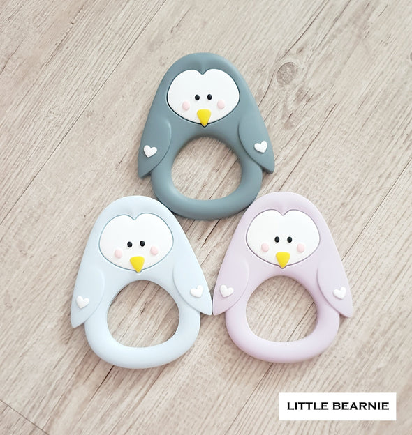 Baby Teether (Premium Range) - Lovely Penguin