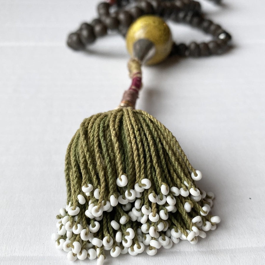The Silent Whisperer Mala Necklace
