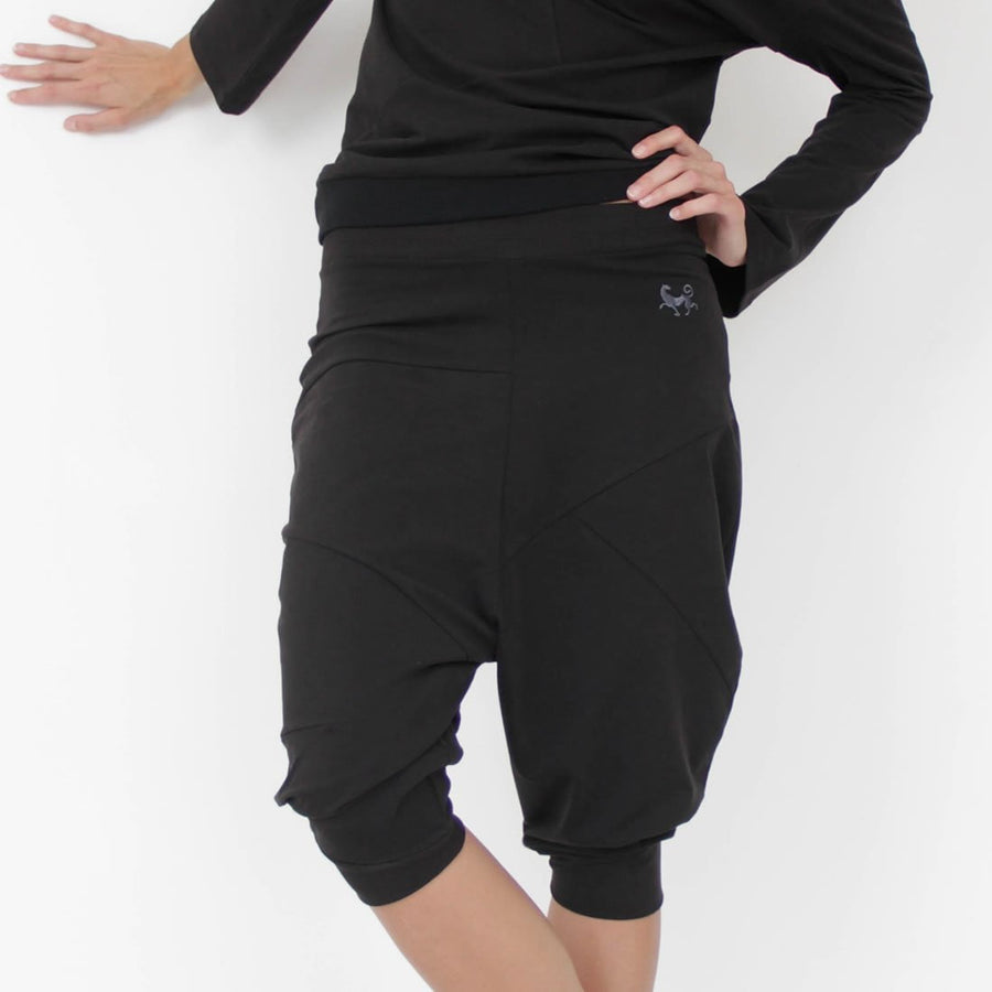 PASHA HAREM Yoga Pants in Organic Cotton - Unisex