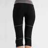 seychelles--- Organic Yoga Capris Pants in moisture-wicking Zeugma® cotton