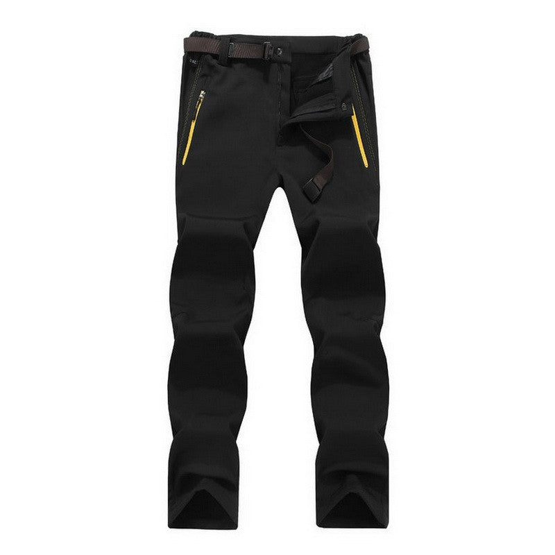 2016 Outdoor Sport Brand Clothing Male Tech Fleece Softshell Waterproof Trousers Winter Ski Skate Trekking Windproof Pants,UA053
