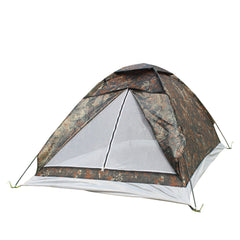 200*140*110cm Outdoor Portable Single Layer carpas camping Tent Camouflage for 2 Person Waterproof Beach barraca Tents