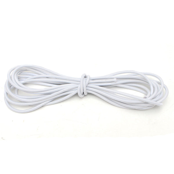 10M Length  8mm Strong Elastic Bungee Rope Shock Cord outdoor camping climbing accessories black white travel kits