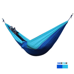 Outdoor 2 people Hammock Tent 2015 Camping Survival garden hunting Leisure travel Double Person Portable Parachute Hammocks