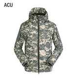 [NaturalHome] Brand Outdoor Tactical Military Jackets Waterproof Sports Men Shark Skin Soft Shell TAD V 4.0 Army Clothing Jacket