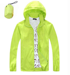 2016 New Men Women Hiking Jacket Outdoor Sports Quick Dry Brand Clothing Waterproof UV Skin Coats Camping Trekking Windbreaker