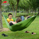 NatureHike Hammock Inflatable Sleeping Automatic Ultralight Outdoor Hiking Camping Tent Picnic Beds
