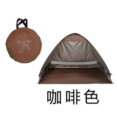Quick Automatic Opening beach tent  sun shelter UV-protective tent shade waterproof pop up open for outdoor camping fishing