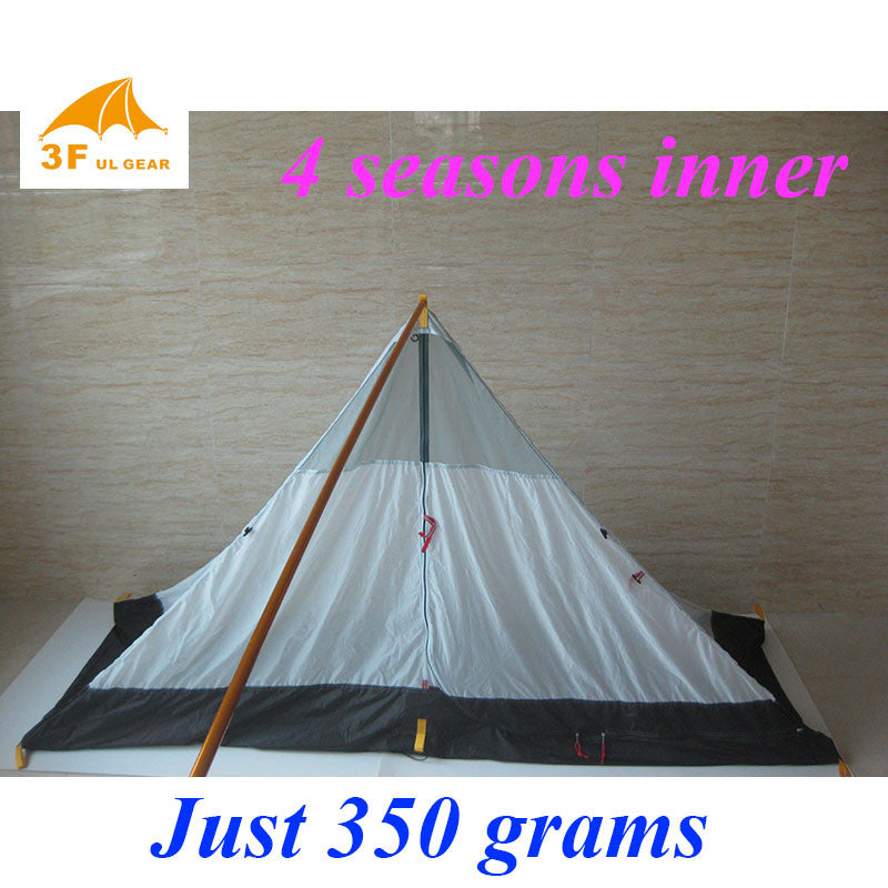Just 350 grams 3F ul Gear 4 seasons outdoor summer camping tent