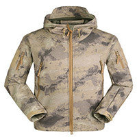Outdoor Military Climbing Down Coat Warm Softshell Jacket Men Leisure New Mountaineering Windproof Sports Army Clothing