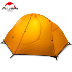 Naturehike 1 Person Camping Tent 3 Seasons Outdoor Tent Ultralight Waterproof Tent