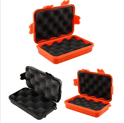 11.5*6*3.5cm waterproof shockproof box Airtight sealed case outdoor survive portable container carry storage EDC gear