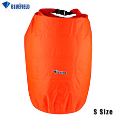 Bluefield waterproof bag 20L 40L 70L Storage Dry Bag Knapsack for Canoe Kayak Rafting Sport Outdoor Camping Travel Kit Equipment