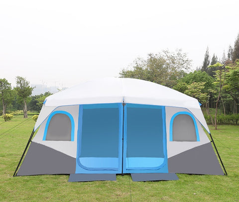 DANCEHL Luxury Camping Tents 10 to 12 Person Cabin Big Large Camping Cabian Tent
