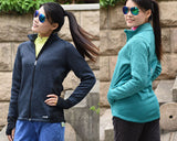 Thermal Running Stand Collar Long-sleeve