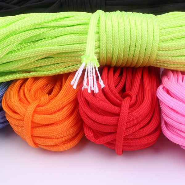 100M 210 Colors Paracord 550 Rope Mil Spec Type III 7Strand Paracorde Outdoor Survival Camping Equipment Edc