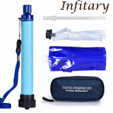 Camping Straw Water Filter Drinking Water