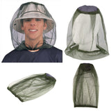 Hat Bug Mesh Head Net Face Protector