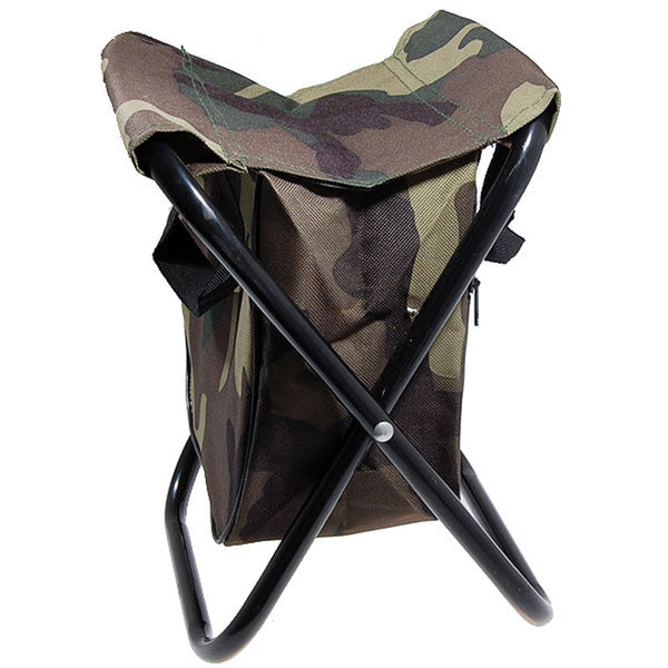 Portable Sillas Camping Camo Folding Chair