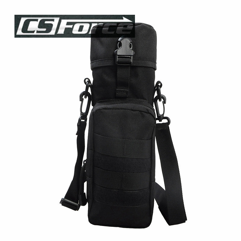 CS Force Molle Water Pouch Nylon Military Gear Military Pouchs Hiking Camping Sport Water Bottle Bag Kettle Holder Travel Kits